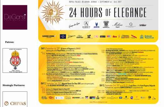 24 HOURS OF ELEGANCE