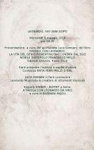Leonardo 8 maggio Roma per Contessa Melzi